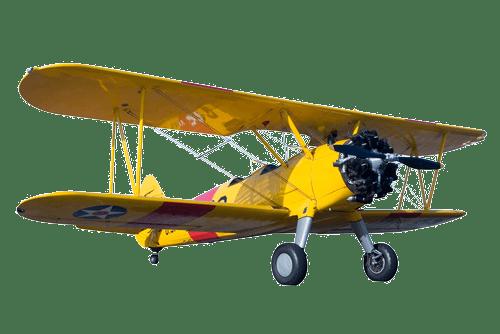 Fresh Forward Dubbeldekker vliegtuig